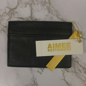 Aimee Kestenberg Card Holder Wallet Black